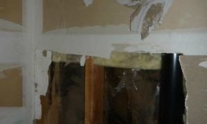 Internal Damage In A Home Without Siding