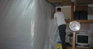 Water Damage Herculaneum Sealing In Mold With A Vapor Barrier